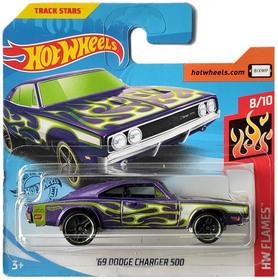 69 DODGE CHARGER 500 HW FLAMES 8/10