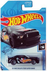 10 FORD SHELBY GT500 SUPER SNAKE CZARNY HW RACE TEAM 7/10