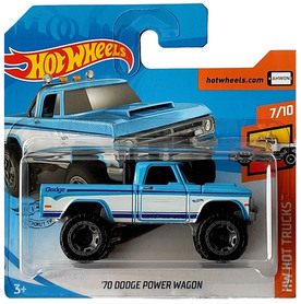 70 DODGE POWER WAGON HW HOT TRUCKS 7/10