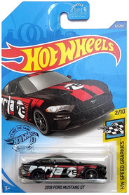2018 FORD MUSTANG GT CZARNY HW SPEED GRAPHICS 2/10