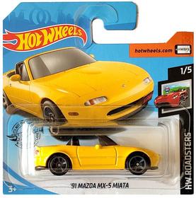 91 MAZDA MX-5 MIATA HW ROADSTERS 1/5