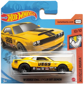18 DODGE CHALLENGER DEMON JEGS MUSCLE MANIA 10/10