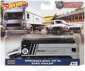 MERCEDES-BENZ 300 SL EURO HAULER CAR CULTURE TEAM TRANSPORT #21