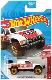 TOYOTA OFF-ROAD TRUCK RED EDITION 1/12
