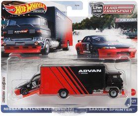 NISSAN SKYLINE GT-R BNR32 SAKURA SPRINTER CAR CULTURE TEAM TRANSPORT #27