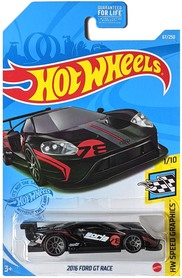 2016 FORD GT HW SPEED GRAPHICS 1/10