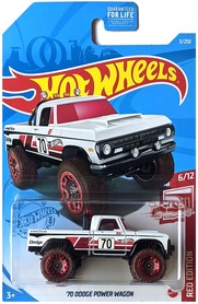 70 DODGE POWER WAGON RED EDITION 6/12