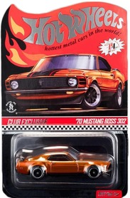RED LINE CLUB 70 FORD MUSTANG BOSS 302