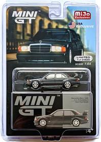 MINI GT MERCEDES-BENZ 190E 2.5-1.6 EVOLUTION II BLACK PEARL METALLIC LHD