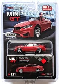 MINI GT BMW M4 SAKHIR ORANGE LHD