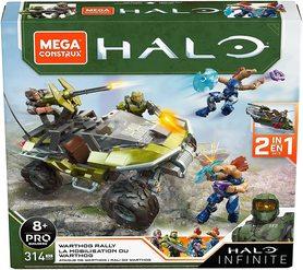 MEGA CONSTRUX HALO INFINITE WARTHOG RALLY 314 klocków 2w1